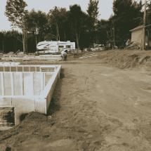 Excavation pour fondation dans la Ville de Québec